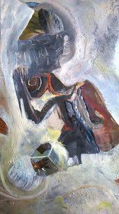 Schilderij Ingebed